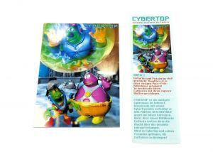 """Cybertops Puzzleecke """"oben rechts"""" mit Beipackzettel"""