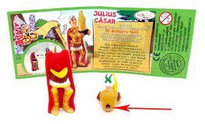 Julius Caesar wo das Steckloch mit Rand ist (Ü-Ei Guß - Variante)