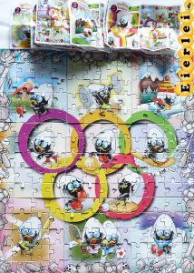 Superpuzzle von Calimero Olympiade, alle 9 Ecken + 9 BPZ