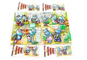 Happy Hippo Company Superpuzzle alle 4 Ecken mit Beipackzetteln
