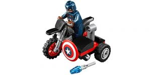 LEGO Super Heroes Captain America's Motorcycle im Polybag [Nummer 30447]