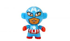 Captain America ohne BPZ (Marvel Twistheads, Testware)