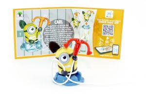 CARL Figur (SD747) mit Beipackzettel von den Minions 3