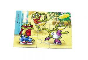 Puzzleecke von den Crazy Crocos unten links (Puzzle)