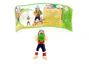 Costa y Bravo mit deutschen Beipackzettel (Asterix Geburtstag)