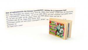 Dapsi Dinos Family mit Zettel (Comic Büchlein)