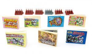Alle 7 Ü-Ei Comics von Ferrero  (Comics Set) Herr der Ringe, Hipperium etc.