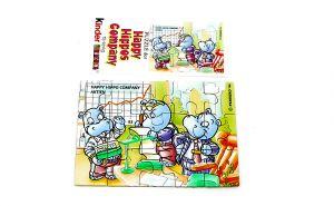 Happy Hippo Company Puzzleecke oben rechts mit Beipackzettel