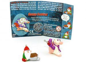 Conny Control, Zwerg mit Schiebkarre + Beipackzettel (Mission Maulwurf)