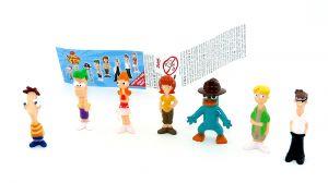 Figurensatz von Phineas and Ferb [Firma Zaini]