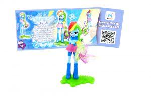 Rainbow mit Beipackzettel (My little Pony)