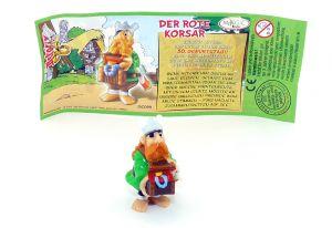 Der rote Korsar mit deustchen Beipackzettel (Asterix Geburtstag)