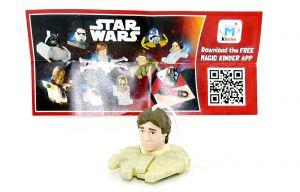 HAN SOLO von Star Wars mit Beipackzettel (FS328)