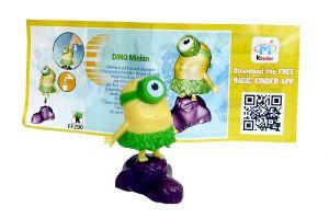 Dino Minion mit Beipackzettel (Die MINIONS)
