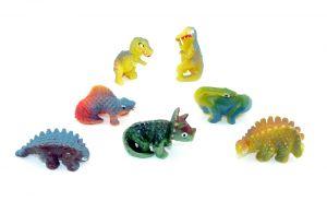 Komplettsatz von den ALTEN Ü-Ei Dinosaurier