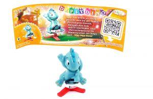 Dapsy Dino mit Beipackzettel (Die Geburtstagsparty)