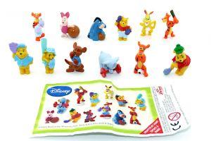 Disney Winnie Pooh Baby Figurensatz beim Sport [Firma Zaini]