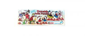 Beipackzettel zur Serie Donalds flotte Familie