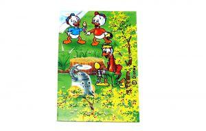 """Puzzleecke aus der Serie """"Donalds Familie"""" unten rechts (15 Teile Puzzle)"""