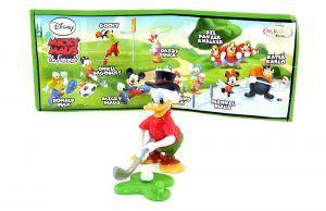 Dagobert Duck mit deutsch beschrifteten Beipackzettel Micky Maus & Freunde