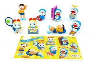 Figurensatz Doraemon mit 1 Beipackzetteln zur Serie (Sätze Europa)