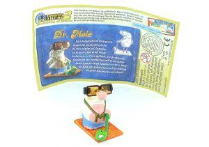 Dr. Mole mit Beipackzettel (Mission Maulwurf 2)