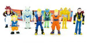 Dragonball  - Dragon Ball GT Figuren Satz von Dolci Preziosi mit Beipackzettel