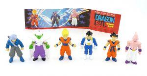 DRAGON BALL Figurensatz. Alle 6 Figuren der Serie und ein Beipackzettel dazu (Dolci Preziosi)