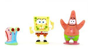 Spongebob, Patrick und Gary, die drei Freunde aus Bikini Bottom