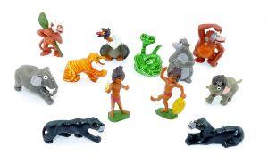 Das Dschungelbuch als Figurensatz von 1985. Alle 12 Figuren