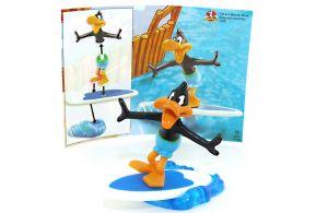 Duffy Duck auf Surfbrett Europa Figur und Beipackzettel (Neutral)
