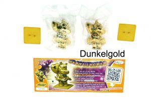 Goldenes Marylinchen, wo die Goldfarbe deutlich dunkler ist als bei der Serienfigur (Farbvariante)