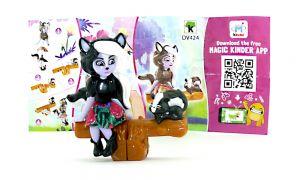 Sage Skunk & Caper  Figur von Enchantimals mit Beipackzettel (DV424)