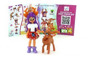 Danessa Deer Figur von Enchantimals mit Beipackzettel (DV421)