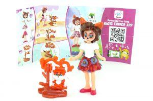 Felicity Fox und Flick Figur von den Enchantimals mit Beipackzettel (DV423)