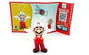 Super Mario mit roter Latzhose. Beipackzettel DV458A