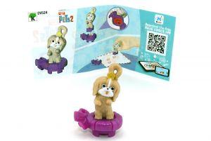 DAISY Figur von Pets 2 mit Beipackzettel (DV524)