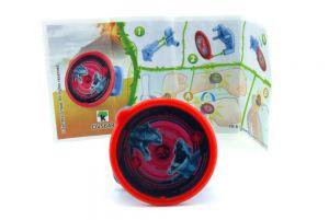 Jurassic World Spielzeug 2021 Kinder Joy. Watch Protector mit Beipackzettel DV564B