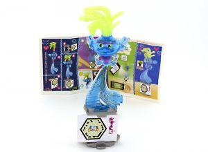 """KING TROLEX Figur von den """"Trolls World Tour"""" mit Beipackzettel DV570"""