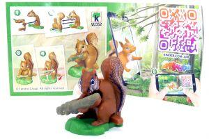 Eichhörnchen aus der Serie Natoons North Amerika (BPZ - VU352)
