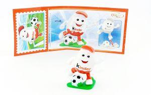 Kinderino Sport, Fußballer mit Beipackzettel