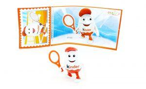 Kinderino Sport, Tennisspieler mit Beipackzettel