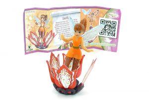Emily von den Disney Fairies mit Beipackzettel