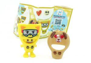 Masken Emoji SE330H mit Beipackzettel (Kinderjoy Emojoy)