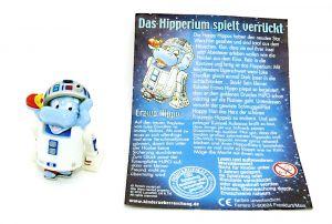 R2 D2 Erzwo Hippo Figur aus der Serie Hipperium (Star Wars Figur)