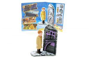 Einsamer Junge mit Beipackzettel EU (Polarexpress Europa)