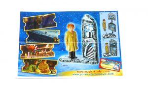 Beipackzettel  vom Einsamer Jungen aus der Serie The Polar Express