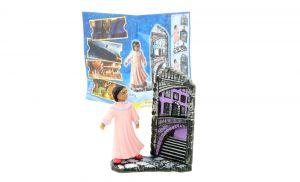 Unser Mädchen Figur mit EU Beipackzettel (Polarexpress Europa)