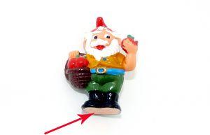 Ferdi Fallobst mit roten Äpfeln und von unten nicht bemalt