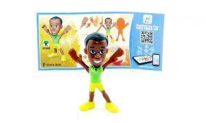 Usain Bolt mit Beipackzettel von den TEEN IDOLS (SD688)